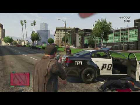 GTA 5 - DLC/Social Club Weapon Customization and Cop Chase