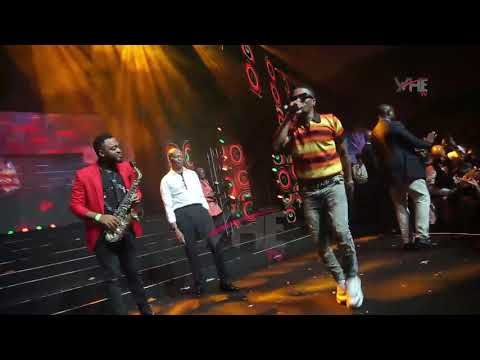 Wizkid Kid's Performance At UBA CEO Awards 2019 In Lagos, Nigeria