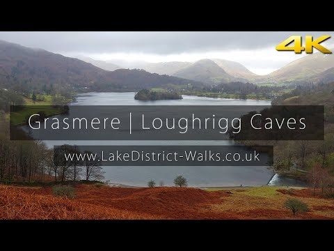 Lake District Walks: Grasmere | Loughrigg Terrace | Loughrigg Caves (4K/UHD)