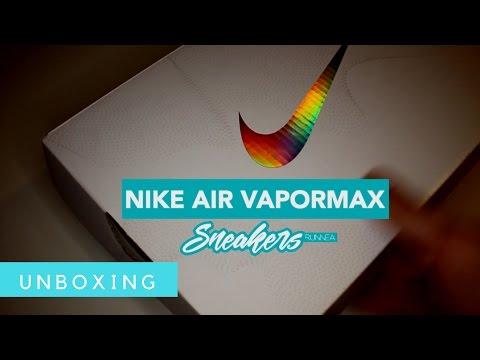 brand new d6387 27d8b Nike Air Vapormax Flyknit, unboxing en español - YouTube