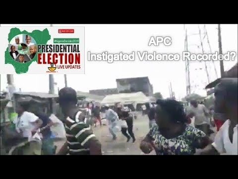 Live Update -  Violence Recorded Across Nigeria In Today's Presidential Election.