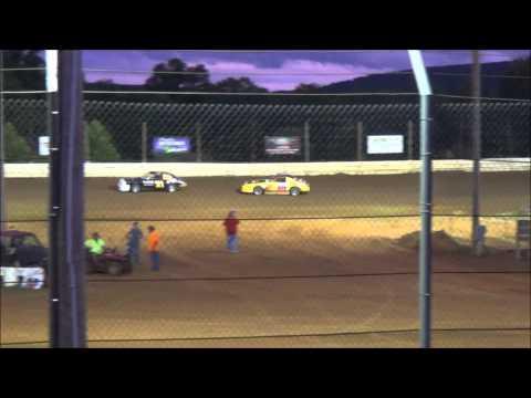 Doe Run Raceway Mini Stock Heat 6-26-15