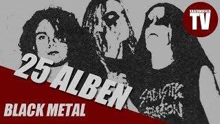 Die 25 wichtigsten Alben im Black Metal - Laut Krachmucker TV