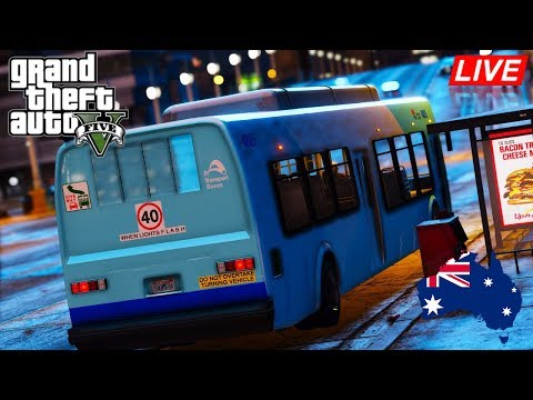 GTA 5 - RAGE Transportation Mod - Transport NSW Bus Driver