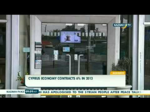 Cyprus economy contracts 6% in 2013