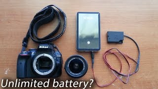 How to extend your DSLR battery