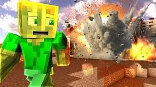 Die ATOMBOMBE EXPLODIERT?! - Minecraft MOD WAR