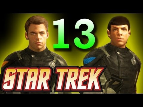 Star Trek 2013: Gorn Tunnel System/Access the Complex/Locate T'Mar Walkthrough  Part 13