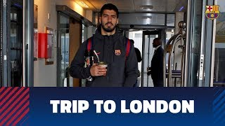 Trip to London ahead of Chelsea-Barça
