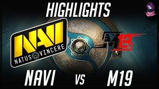 Na'Vi vs M19 The International 2017 CIS TI7 Highlights by Time 2 Dota #dota2 #ti7