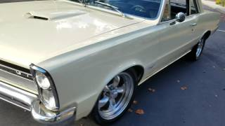 DRIVE BY 65 GTO CLONE.  BUILT 455
