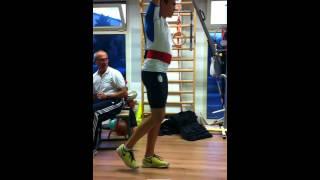 Counter movement jump test CMJ