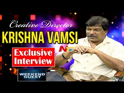 Director Krishna Vamsi Exclusive Interview || Weekend Guest || NTV