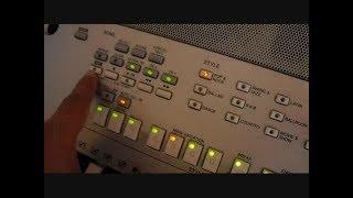 PSR S710 s700 s910 s900 Gravando midi e audio WAV