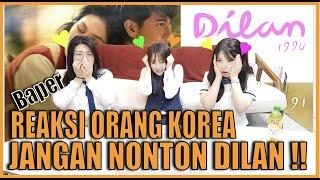 Download lagu [Baper!!]REAKSI ORANG KOREA NONTON DILAN (Full)Pakai SERAGAM SMA!!!딜란 영화 감상 후기!!