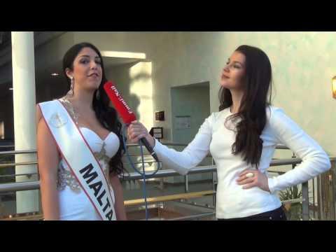 Miss Intercontinental 2015 - Miss Malta Interview