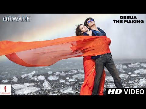 Making of Gerua | Kajol, Shah Rukh Khan | Dilwale | A Rohit Shetty Film