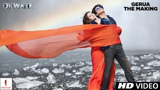 making-of-gerua-kajol-shah-rukh-khan-dilwale-a-rohit-shetty-film