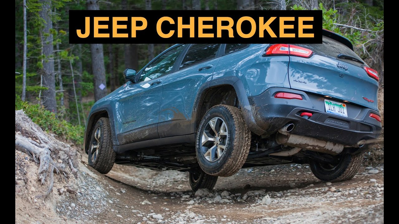 2015 jeep cherokee trailhawk 4x4 - off road and track review - youtube
