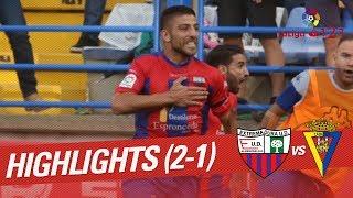 Resumen de Extremadura UD vs Cádiz CF (2-1)