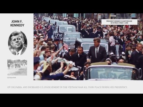 John F. Kennedy - Presidents of the United States Bios - Wiki Videos by Kinedio