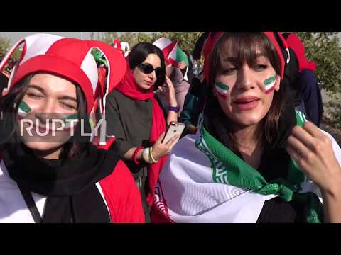 Iran: Women Allowed Into Football Stadium After 40 Years
