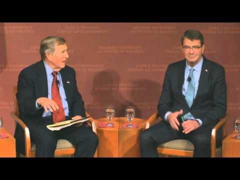 Secretary Carter Speaks at Harvard Kennedy School