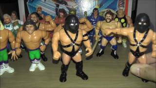 Complete Set Of WWF Hasbro Figures Series 1 To Series 11
