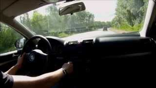 Volkswagen Jetta 2010 тест драйв/ test drive 1st person and 3rd person view