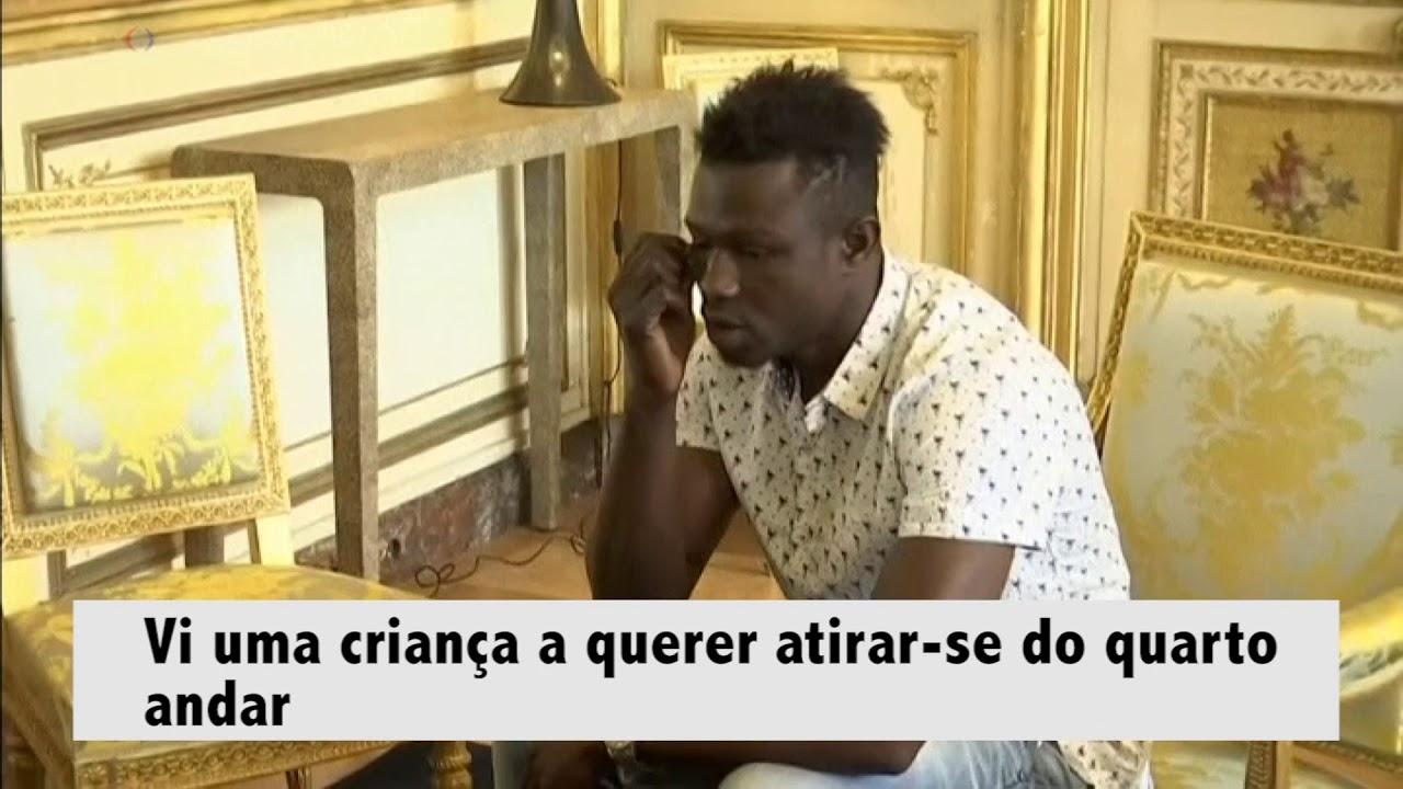 e00bd94430 Homem-aranha maliano é o novo herói de França - YouTube