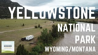 Ep. 46: Yellowstone National Park | RV travel Wyoming & Montana camping