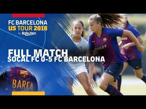 FULL MATCH | #PreSeason: SoCal FC - FC Barcelona Women (0-5)