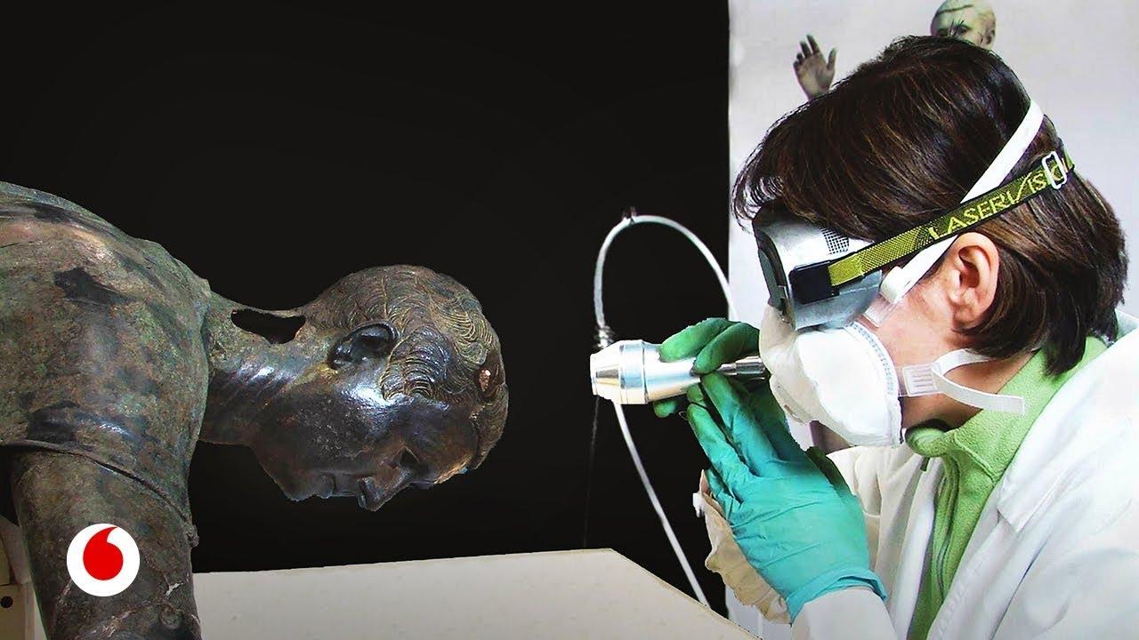 Rayos láser para salvar obras de arte