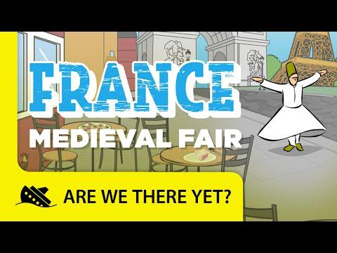 France: Medieval Fair - Travel Kids in Europe