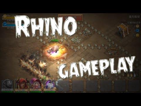 Rhino In Action  - Castle Clash