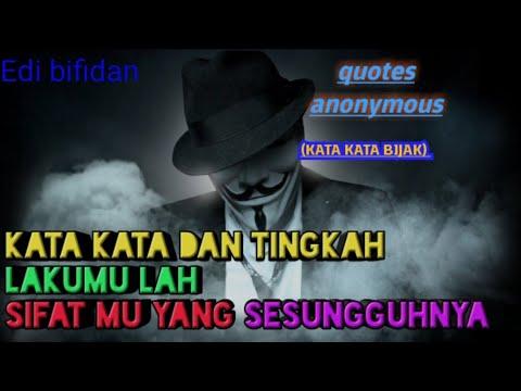 Deretan Quotes Anonymous Katabijak Youtube
