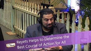 Reyets Helps to Determine the Best Course of Action for All @ Collision Conf 2018