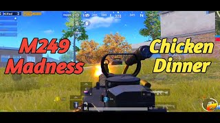 M249 Madness | Chicken Dinner | PUBG Mobile by Carbon