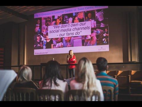 #SNMUC - Jessica Gioglio über Content Strategy