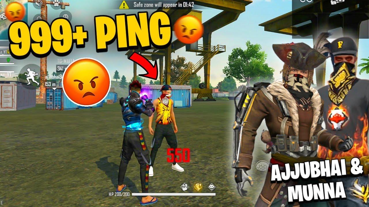 999+ Ping 😡😡😠!!!  I Hate This Ft. AjjuBhai & MunnaBhai