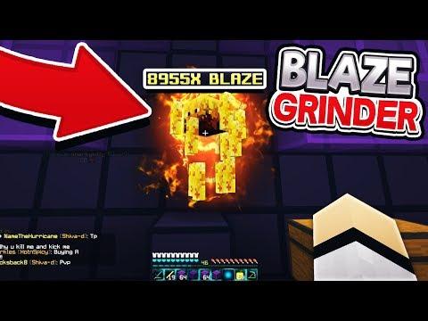 THE BEST BLAZE GRINDER SETUP (100% Un-Killable) | Minecraft Factions | Cosmic Pvp | Goodness [3]