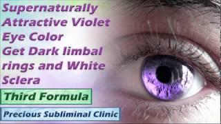 Hypnotic Violet Eyes - 3rd Formula [Affirmation Frequency] - INSTANT RESULTS