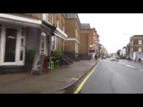 Cycling in London : Fulham Palace Rd _ Colehill Ln _ Munster Rd