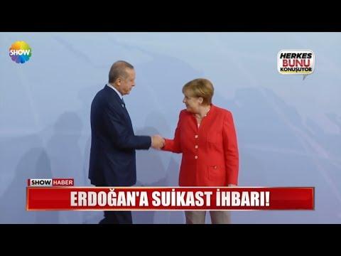 Erdoğan'a suikast ihbarı!