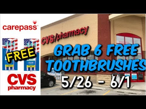 🔥 CVS DEAL | GRAB 6 FREE TOOTHBRUSHES 5/26 – 6/1| NO COUPONS 😱