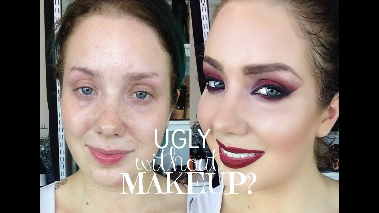 Ugly WITHOUT makeup?? - YouTube