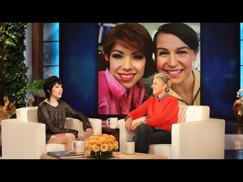 Carly Rae Jepsen Visits with Ellen