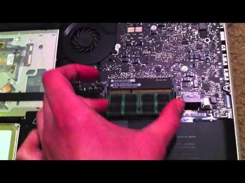 How to Fix Freezing 2010 MacBook Pro When Installing 8GB RAM