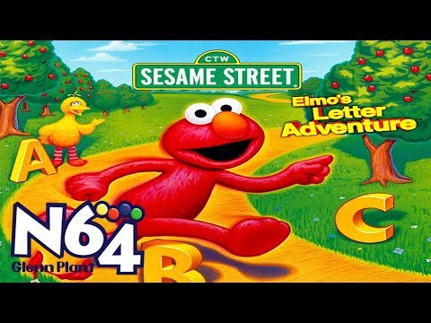 Elmo's Letter Adventure - Nintendo 64 Review - HD