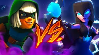 ¡¡BRUJA NOCTURNA VS. BANDIDA!! RAP CLASH ROYALE ft. Kronno Zomber